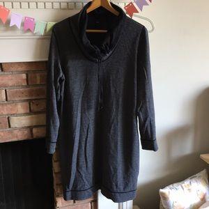 Tommy Bahama reversible sweatshirt dress XL